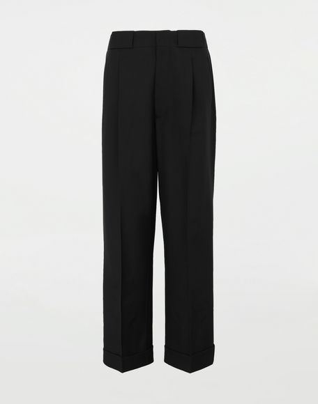 MAISON MARGIELA Striped tailored pants Casual pants Woman f