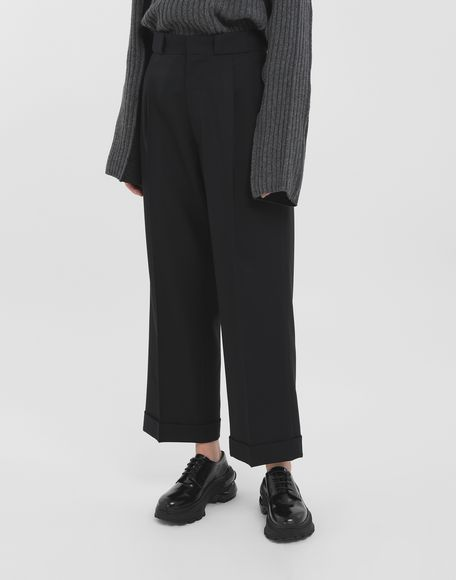 MAISON MARGIELA Striped tailored pants Casual pants Woman r