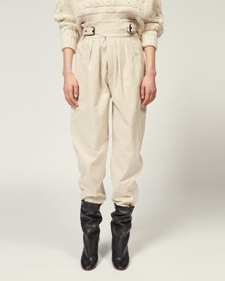 ISABEL MARANT TROUSER Woman YURNEA TROUSERS r