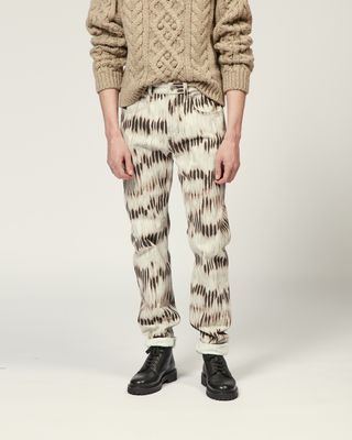 ISABEL MARANT JEANS Man JACK TROUSERS r