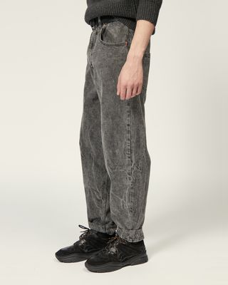 ISABEL MARANT JEANS Man LARSON TROUSERS r