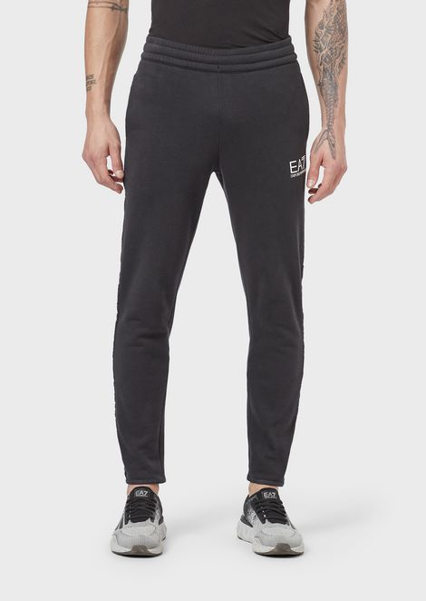 Pantalones jogger de felpa de algodón