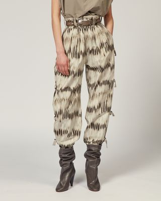 ISABEL MARANT TROUSER Woman IZARD TROUSERS r