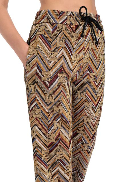 M MISSONI Pants Gold Woman - Front