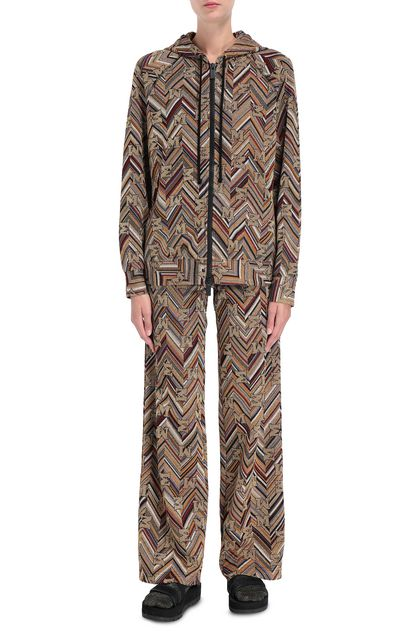 M MISSONI Pants Gold Woman - Back