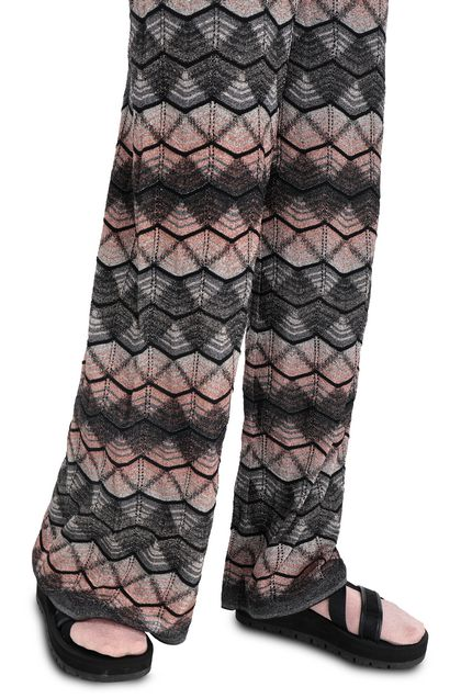 M MISSONI Pants Steel grey Woman - Front