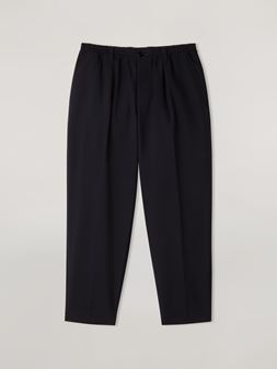 Marni Pleated pants in tropical wool Man