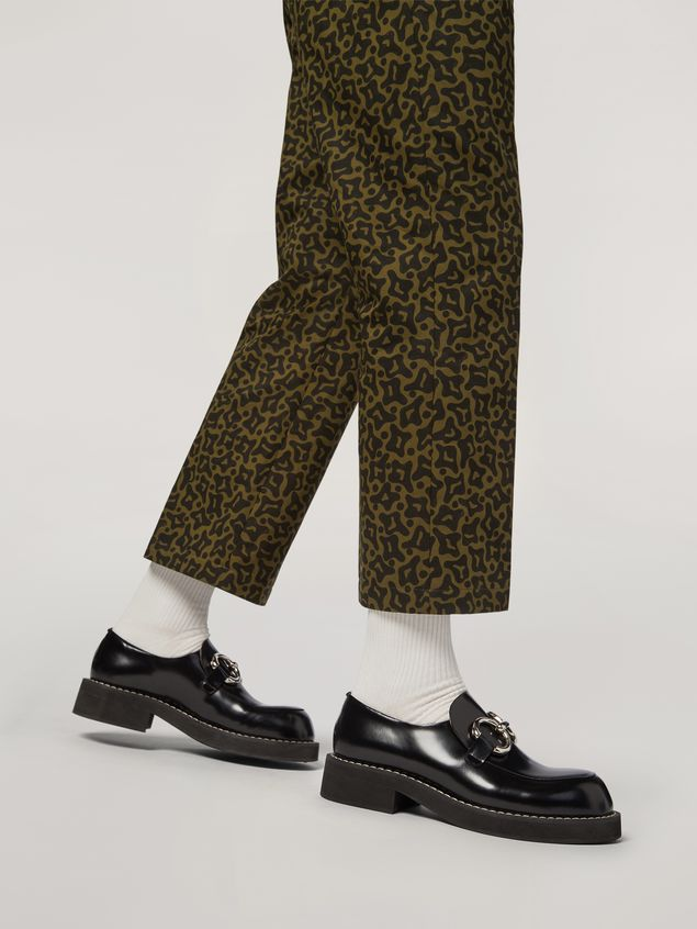 Marni Trousers in heavy cotton Camo Cells print Man - 5