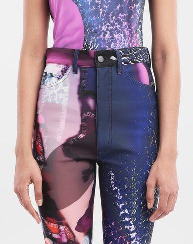PANTALONS Pantalon skinny Flamingo en néoprène Bleu