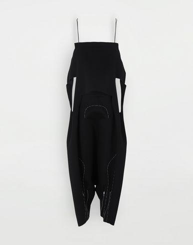 TROUSERS Neoprene jumpsuit Black