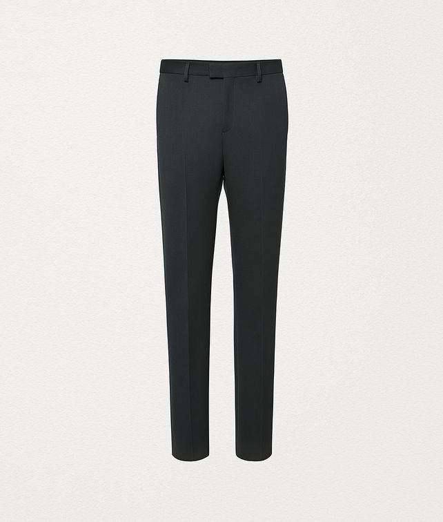 BOTTEGA VENETA TROUSERS IN COMPACT WOOL Trousers and Shorts Man fp