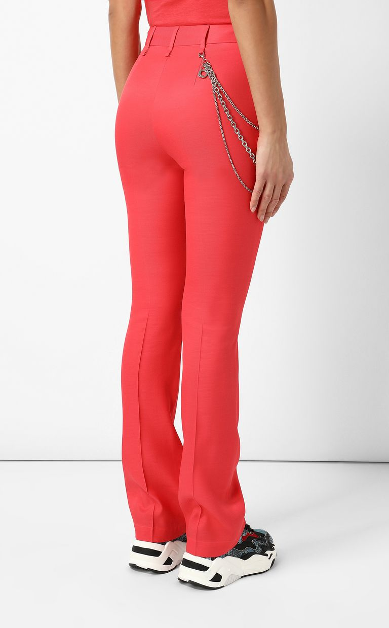 JUST CAVALLI Elegant trousers with chain Casual pants Woman a