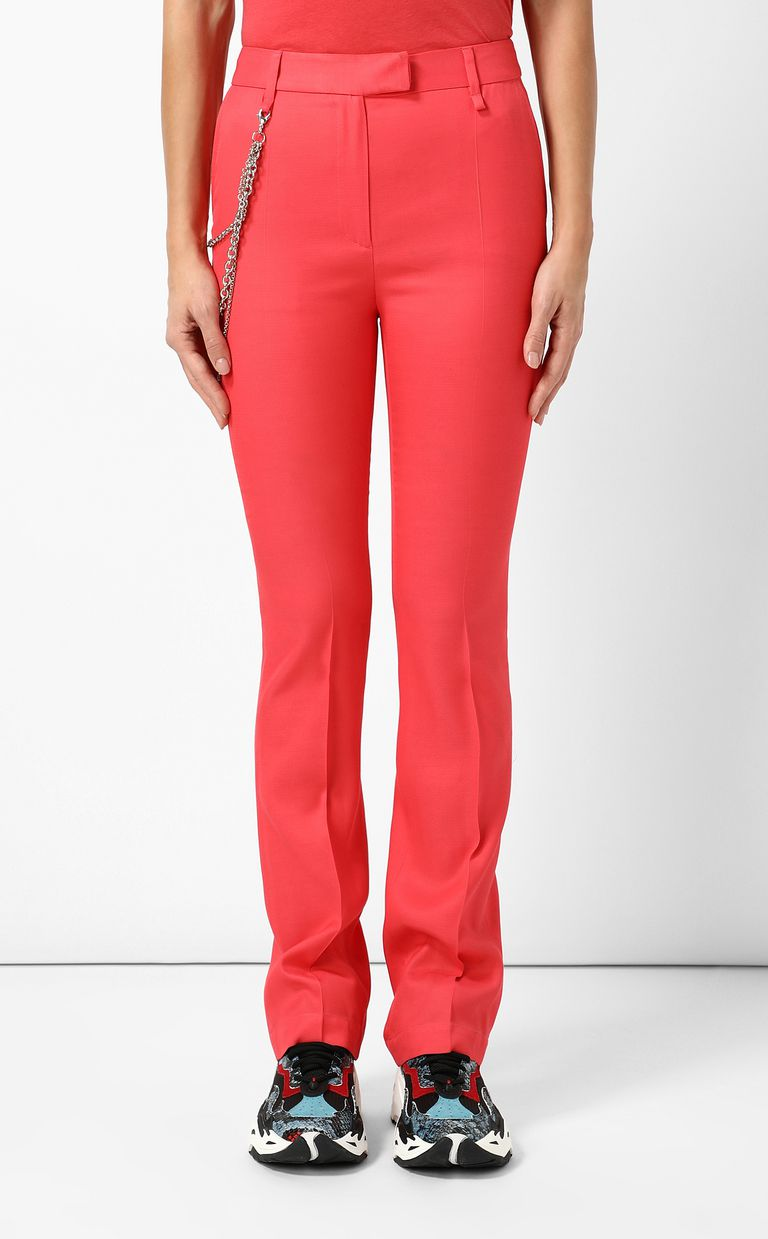 JUST CAVALLI Elegant trousers with chain Casual pants Woman r