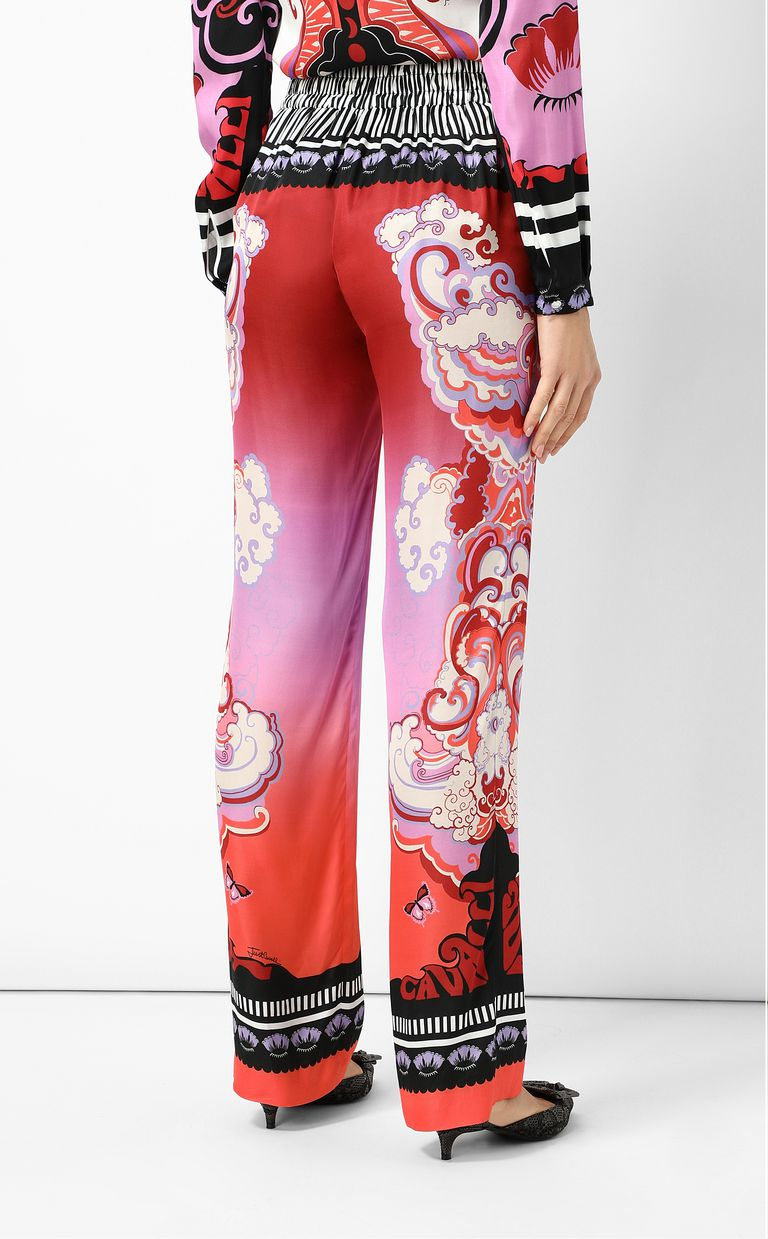 "JUST CAVALLI ""Genesis""-print trousers Casual pants Woman a"