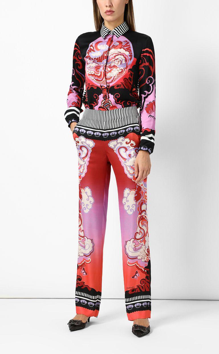 "JUST CAVALLI ""Genesis""-print trousers Casual pants Woman d"