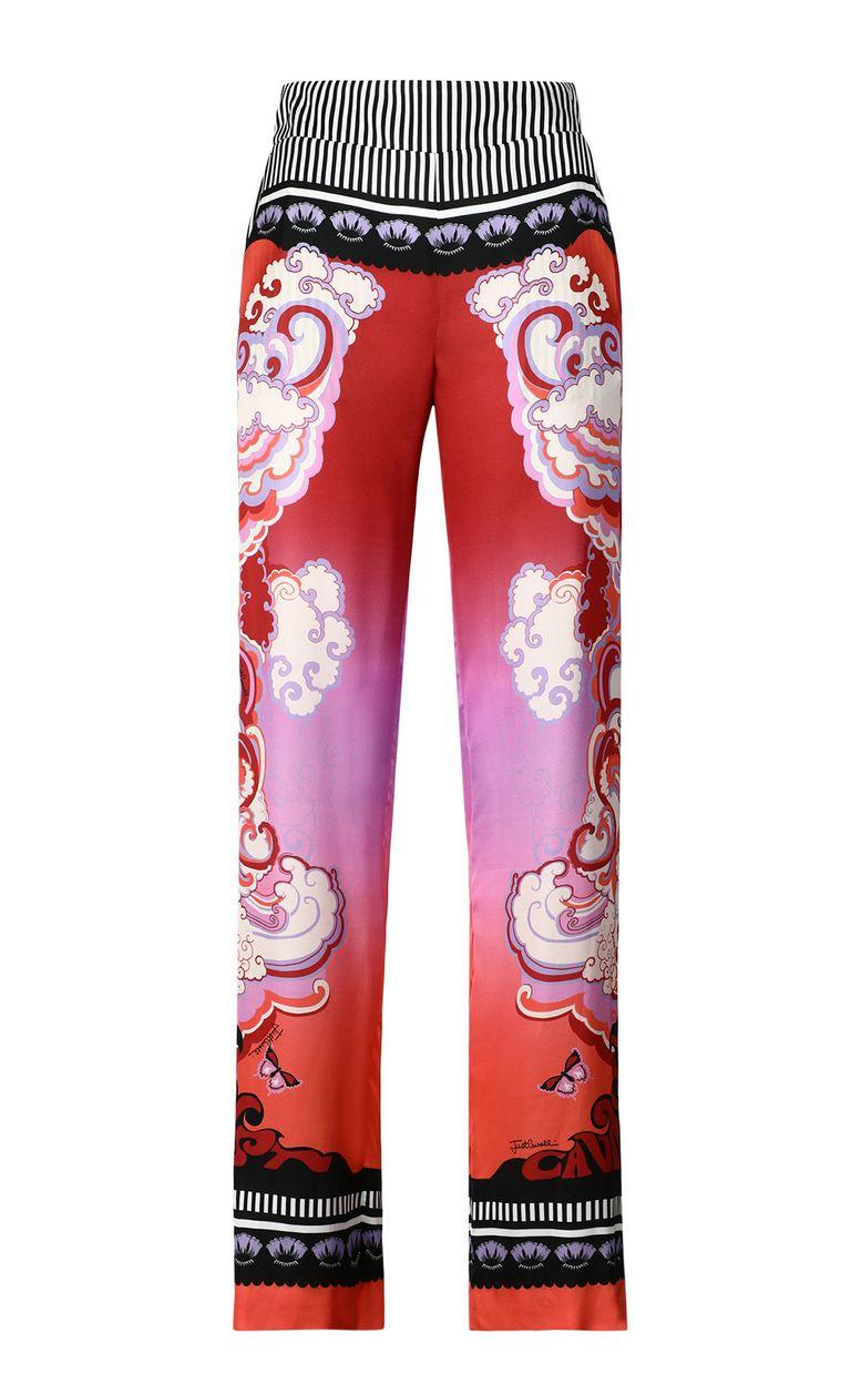"JUST CAVALLI ""Genesis""-print trousers Casual pants Woman f"
