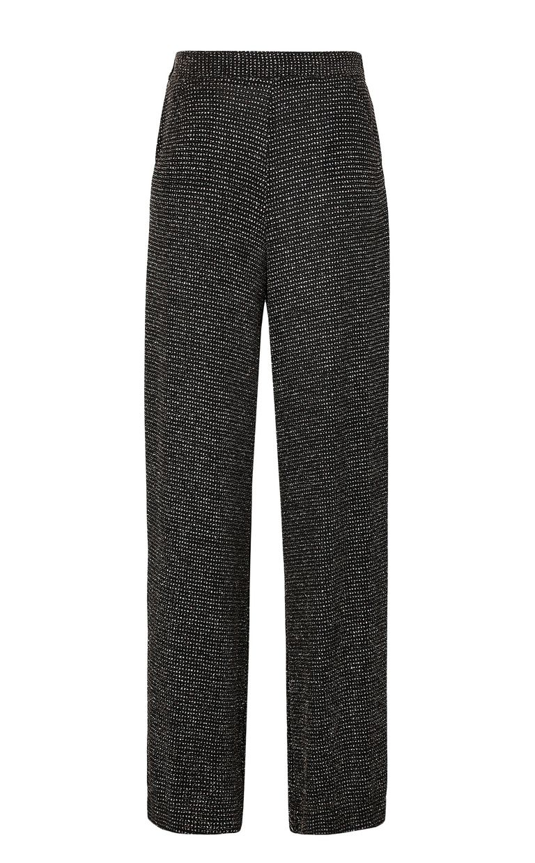 JUST CAVALLI Trousers with crystals Casual pants Woman f