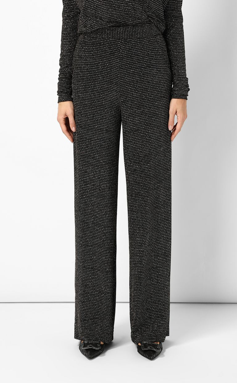 JUST CAVALLI Trousers with crystals Casual pants Woman r