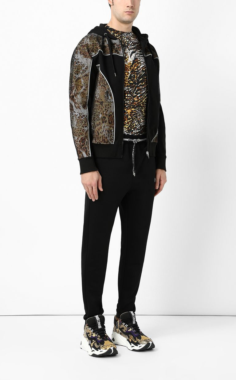 JUST CAVALLI Track trousers with drawstring Casual pants Man d