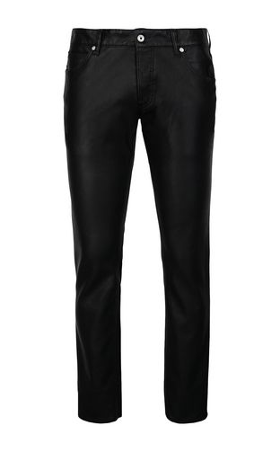 JUST CAVALLI Casual pants Man Trousers in faux leather f