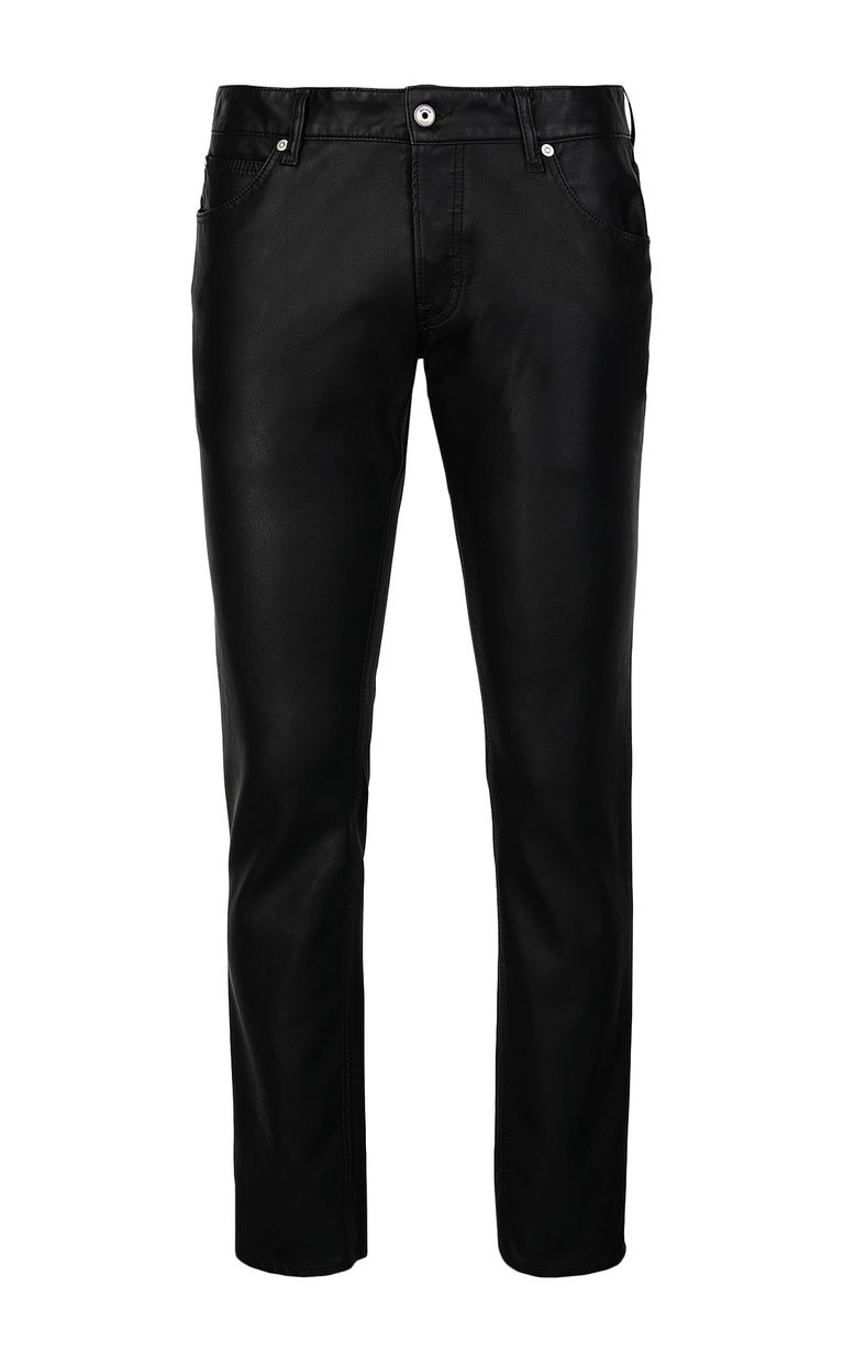 JUST CAVALLI Trousers in faux leather Casual trouser Man f