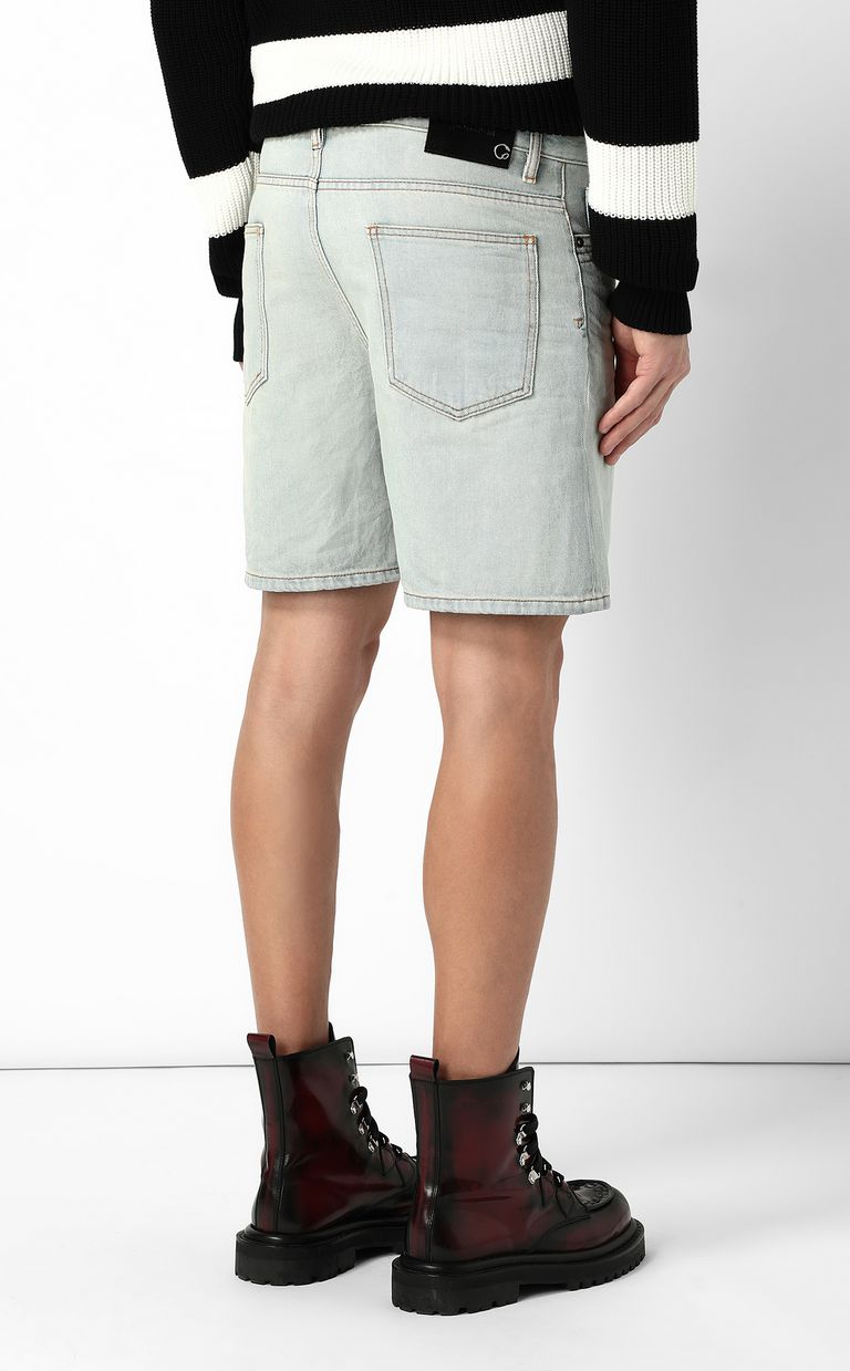 JUST CAVALLI Denim shorts Shorts Man a