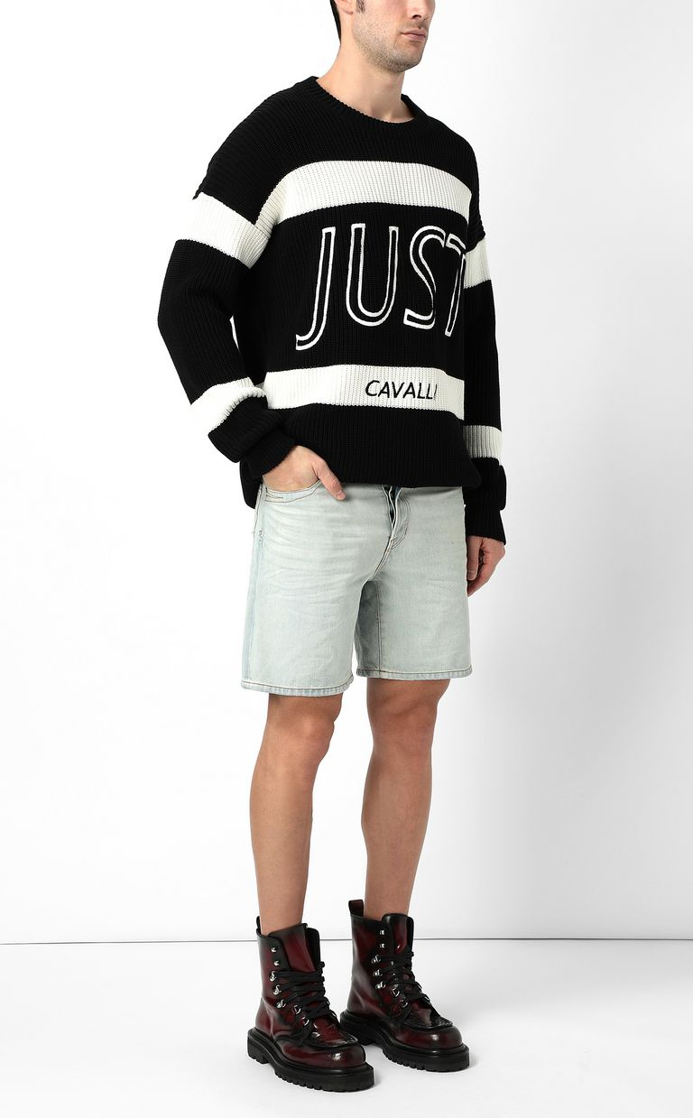 JUST CAVALLI Denim shorts Shorts Man d