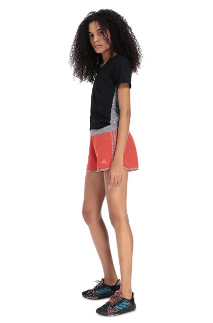 MISSONI ADIDAS X MISSONI SHORTS Orange Woman - Front