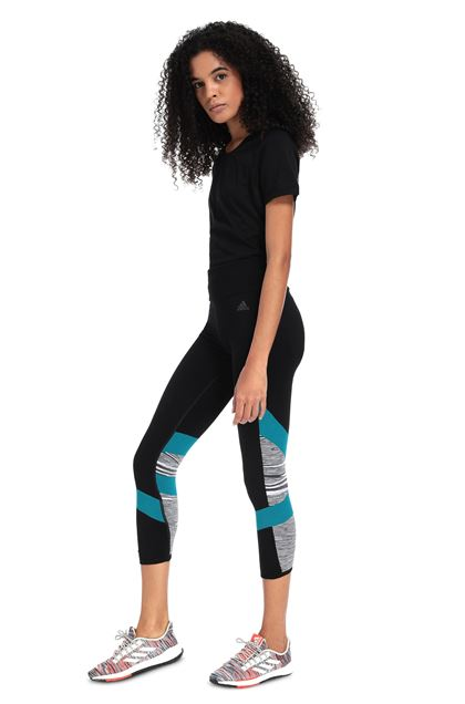 MISSONI ADIDAS X MISSONI LEGGINGS Black Woman - Front