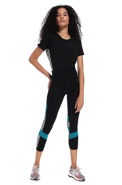 MISSONI ADIDAS X MISSONI LEGGINGS Black Woman - Back