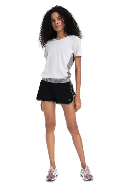 MISSONI ADIDAS X MISSONI SHORTS Black Woman - Back