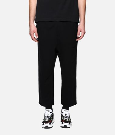 Y-3 Sweatpants Man Y-3 CL Cropped Pants r