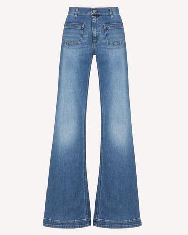 REDValentino TR3DD01L4TT 568 Pants Woman a
