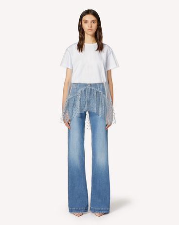 REDValentino TR3DD01L4TT 568 Trousers Woman f
