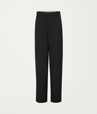 TROUSERS IN WOOL GABARDINE