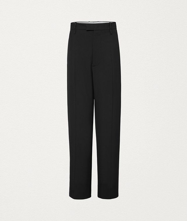 BOTTEGA VENETA TROUSERS IN WOOL GABARDINE Trousers and Shorts Woman fp