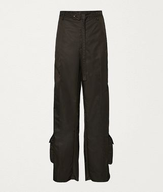 TROUSERS IN NYLON GABARDINE