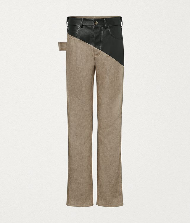 BOTTEGA VENETA TROUSERS IN DENIM Trousers and Shorts Woman fp