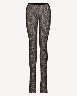 REDValentino Jersey lace leggings