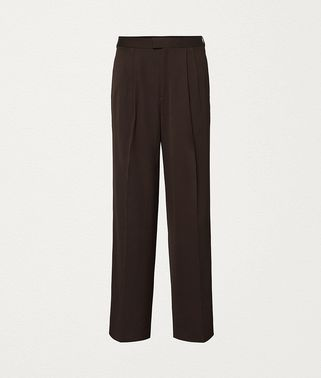 PANTS IN WOOL GABARDINE