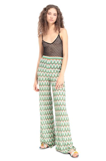 MISSONI Pants Light green Woman - Back