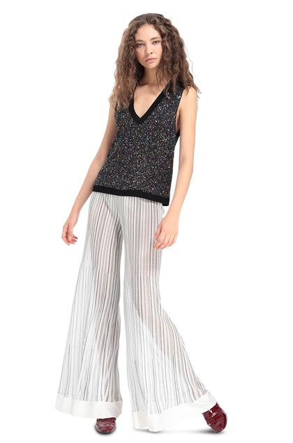 MISSONI Trouser White Woman - Back