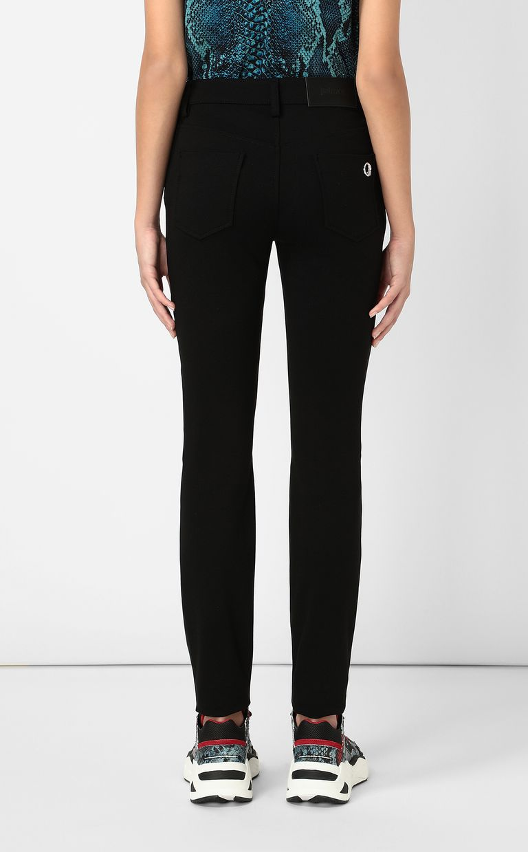 JUST CAVALLI Faux-leather trousers Casual trouser Woman a