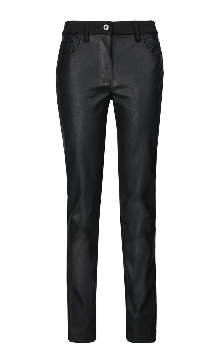JUST CAVALLI Faux-leather trousers Casual trouser Woman f