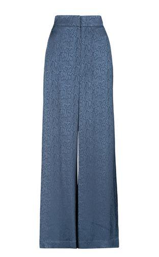 Leopard-pattern trousers