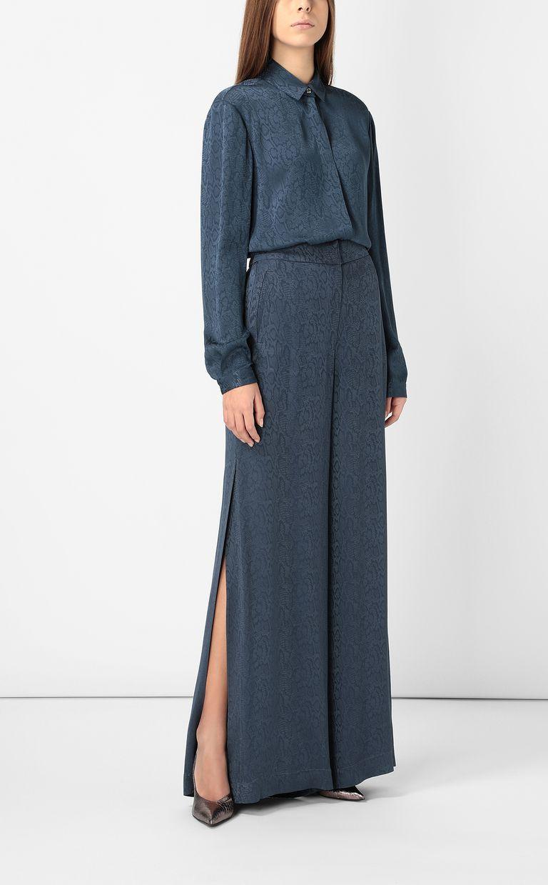 JUST CAVALLI Leopard-pattern trousers Casual pants Woman d