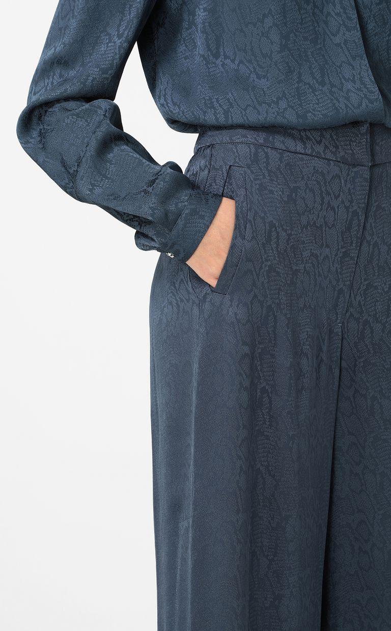 JUST CAVALLI Leopard-pattern trousers Casual pants Woman e