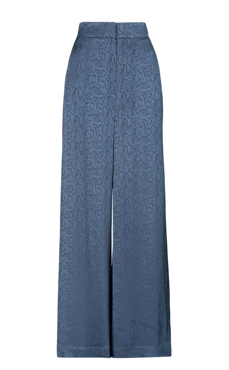 JUST CAVALLI Leopard-pattern trousers Casual pants Woman f
