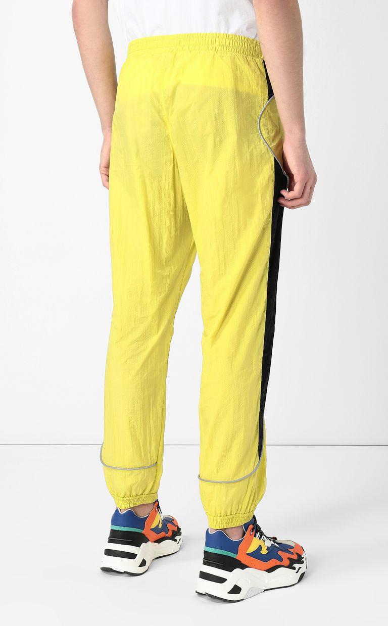JUST CAVALLI Cheetah-detail trousers Casual pants Man a