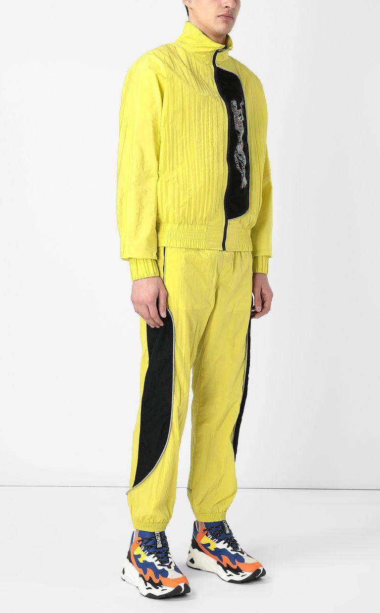 JUST CAVALLI Cheetah-detail trousers Casual pants Man d